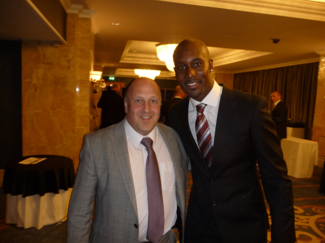 The big fella, Carlton Cole. Thanks for everything...