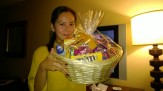 The Hamper in the room. Nice touch.