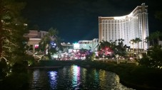 Down the strip from the Wynn