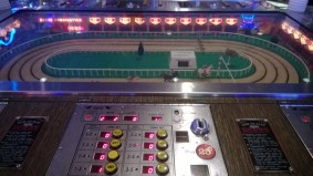 The oldest working gaming machine in Vegas. The Sigma Derby