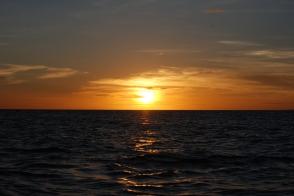 Sunset time