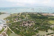Botanical Garden from the roof of the MBS