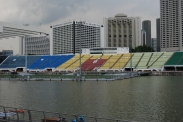 Some left behind F1 track seating
