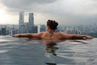 The Infinity Pool, Marina Bay Sands