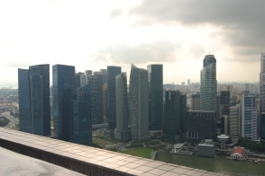 Skyline from the Infinity Pool