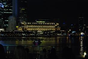 The Fullerton at night