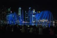 Water show, Marina Bay