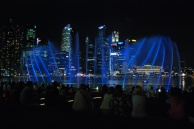 Water show, Marina Bay