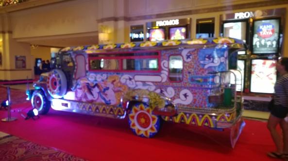 Jeepney in resort World Manila