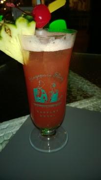 Obligatory Singapore Sling in Raffles