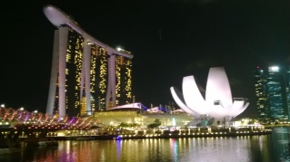 Marina bay sands and Art Gallery