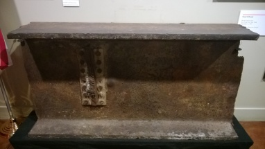 A steel from the WTC at the National Atomic Testing Museum