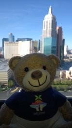 Mr Sling enjoying his first trip to Vegas