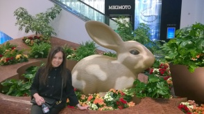 That's one big wabbit !