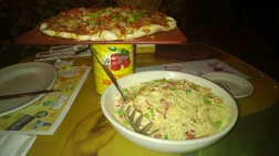 Pizza and Pasta Buca Style