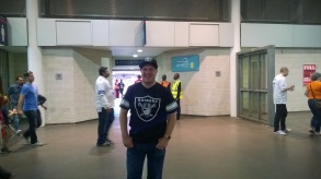 Raiding inside Wembley