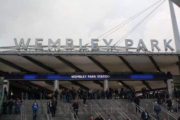 Wembley welcome
