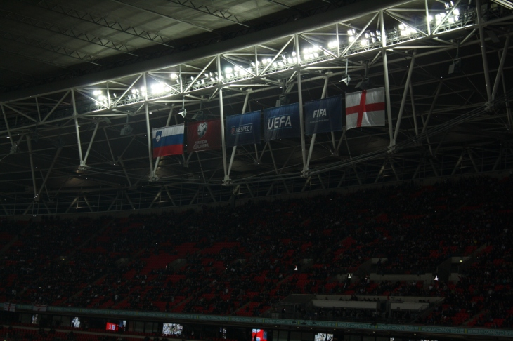 Official flags (new UEFA logo ?)