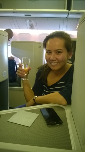 Business Class, that'll do nicely!
