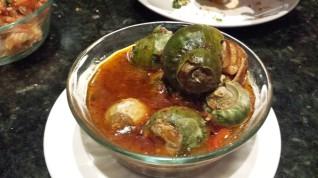 Snails (!) at Ping Pang Pong