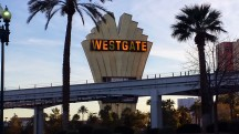 Westgate Sign not quite as good as its predecessors.