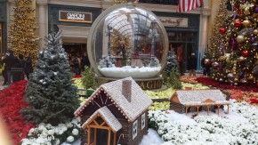 New Bellagio Xmas Display