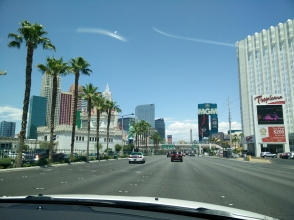 Cruising the strip