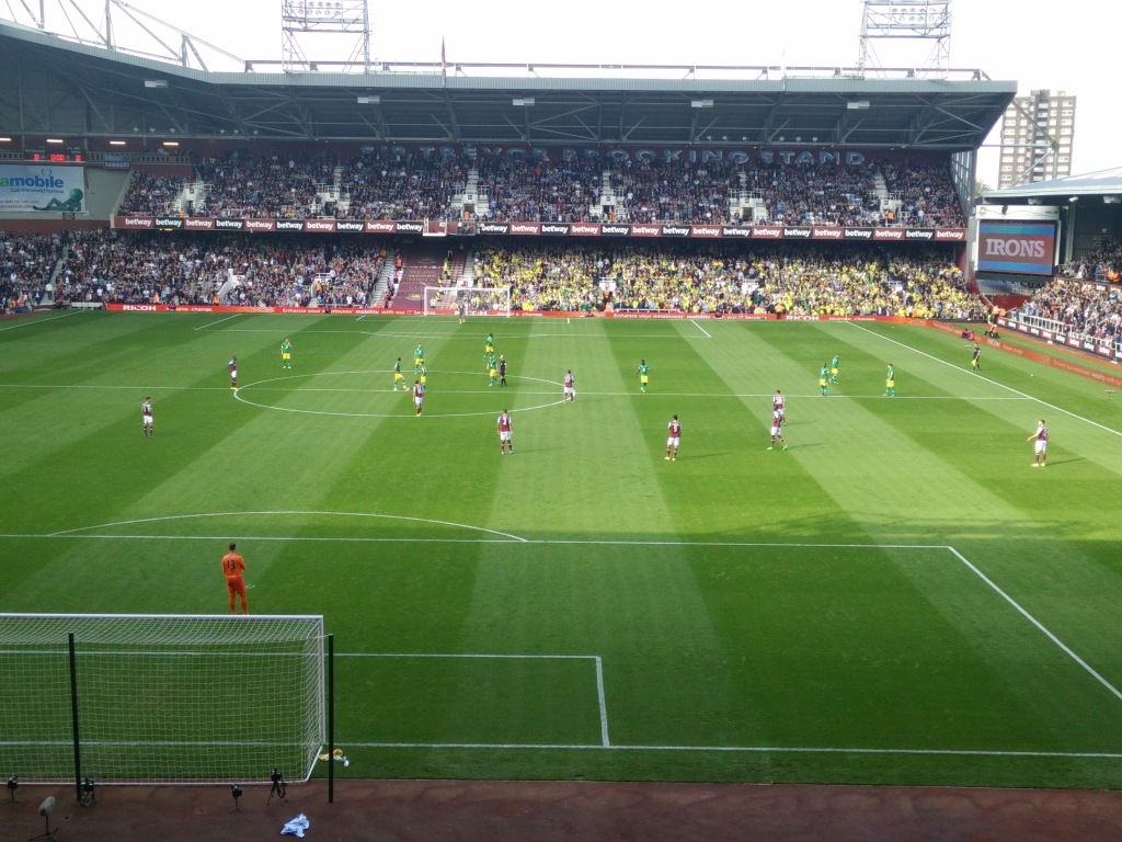 It's all kicking off at Upton Park
