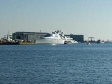 James Bond Villain boat