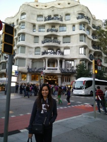 Just another Gaudi building near our hotel