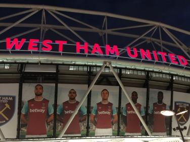 West Ham Under Lights