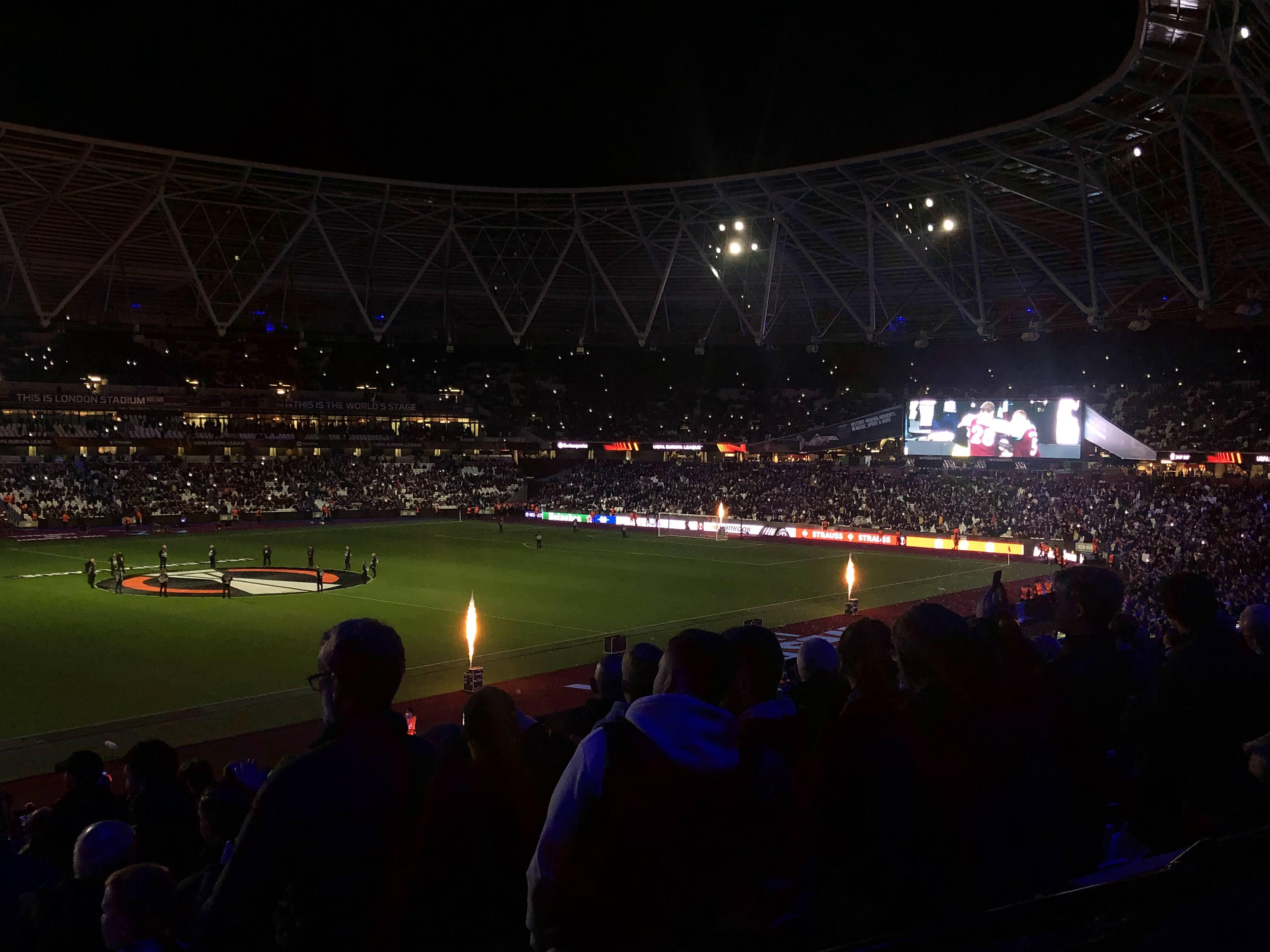 WHUFC 3 – KRC Genk 0 Europa League 21/10/2021