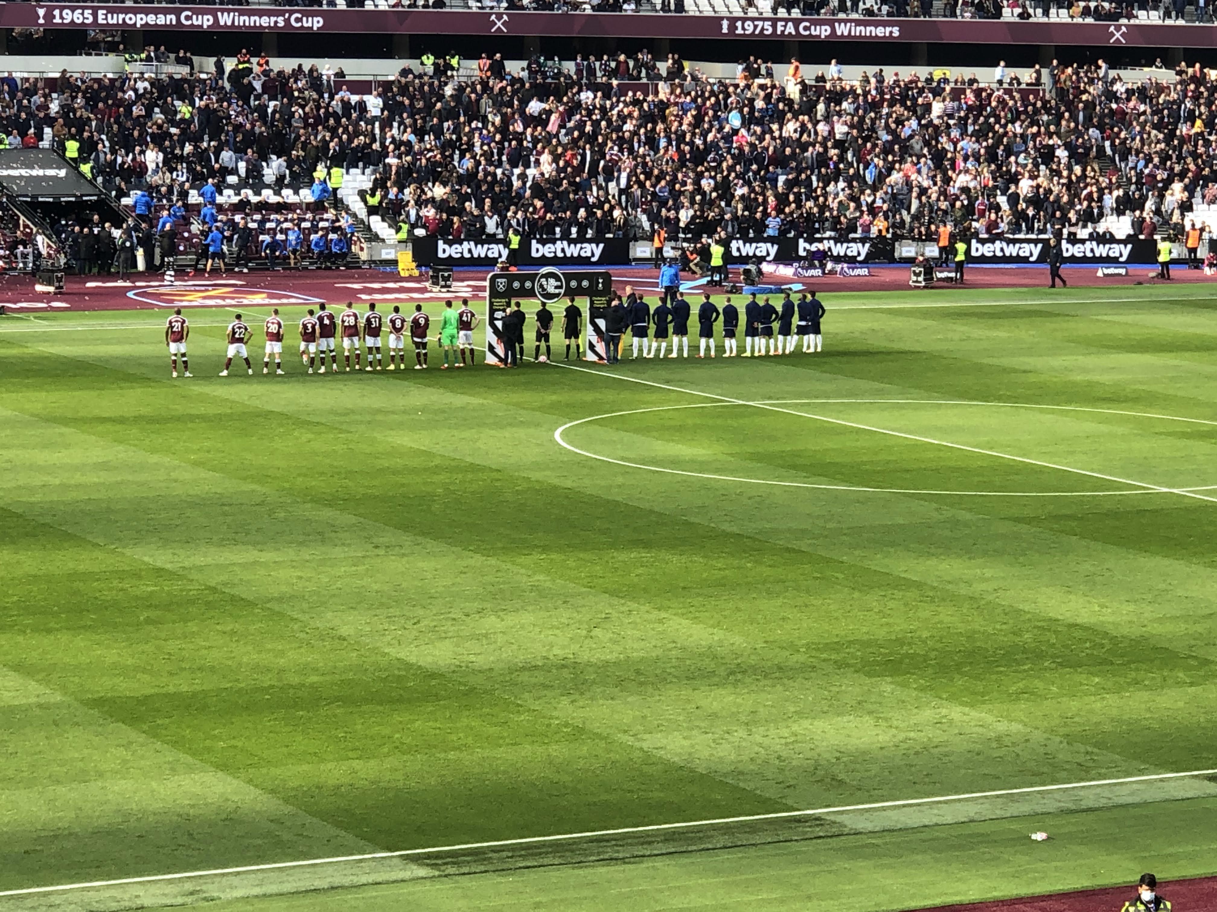 WHUFC 1 Tottenham 0 24/10/2021 EPL 2021-2022